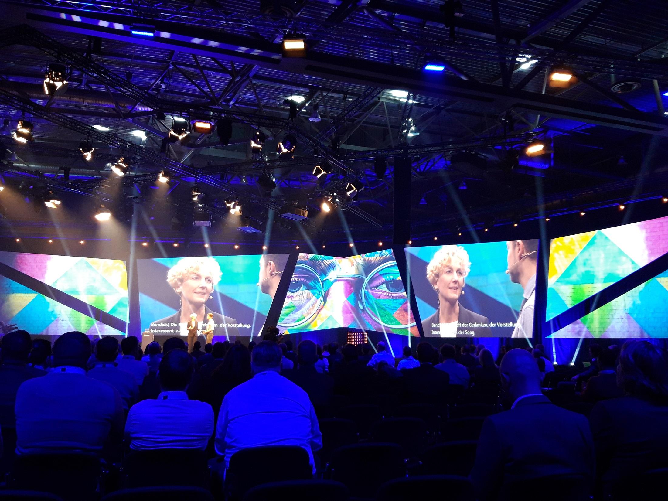 synalis auf der Microsoft Partnerveranstaltung mit Sabine Bendiek