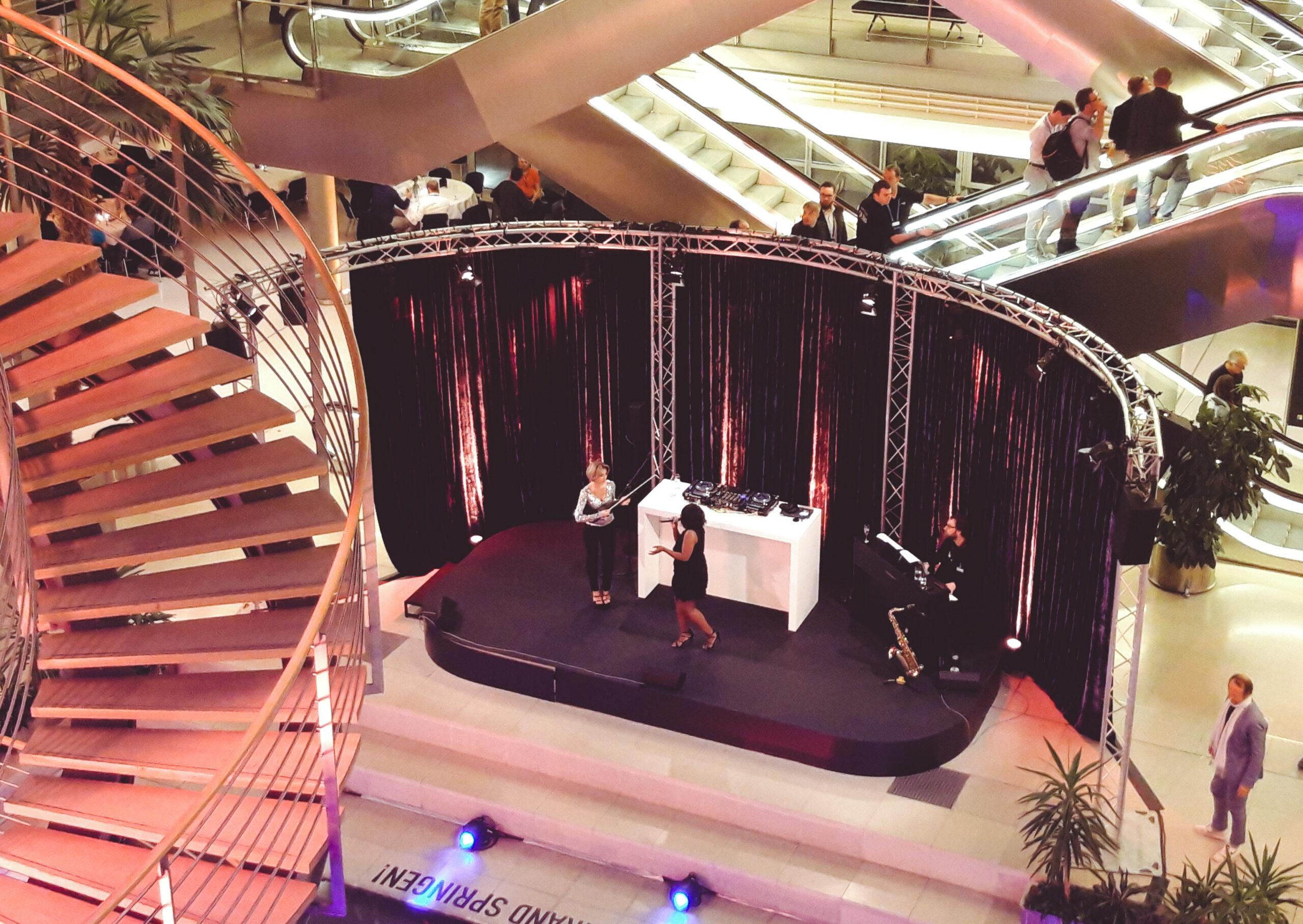 Messe-Leipzig-DPK18-Microsoft-Halle-Abendveranstaltung-MS Gold Partner synalis
