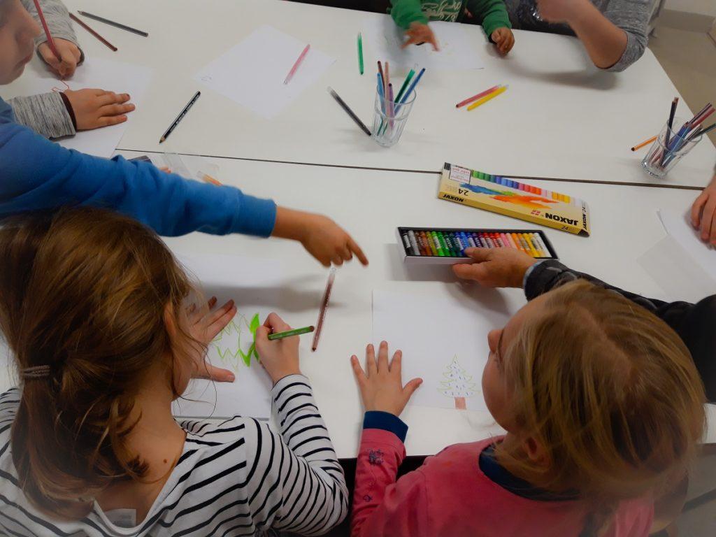 Malaktion synalis Abenteuer Lernen eV Kindergruppe