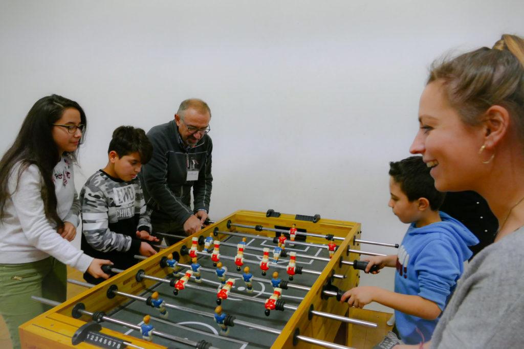 Malaktion synalis Abenteuer Lernen eV Kindergruppe Kicker
