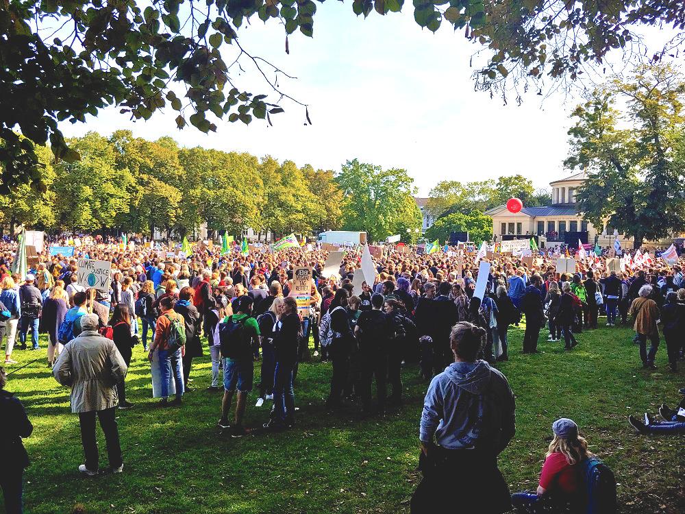 Hofgarten Klimastreik Bonn synalis