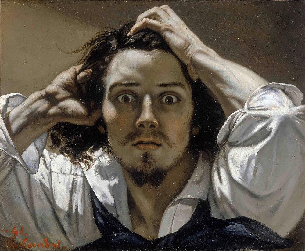 Bild: Der Verzweifelte von Gustav Courbet