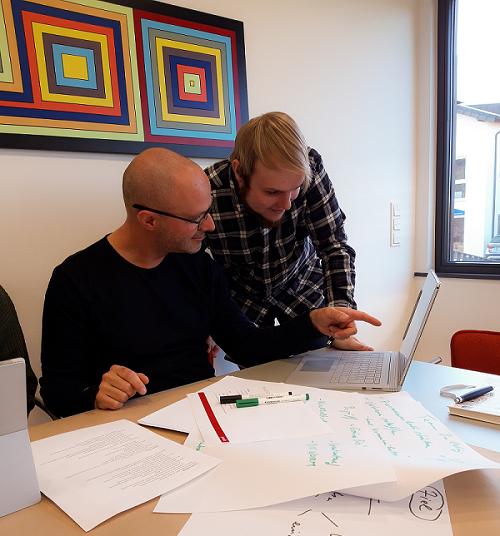 Kreative Teamarbeit mit Microsoft Teams