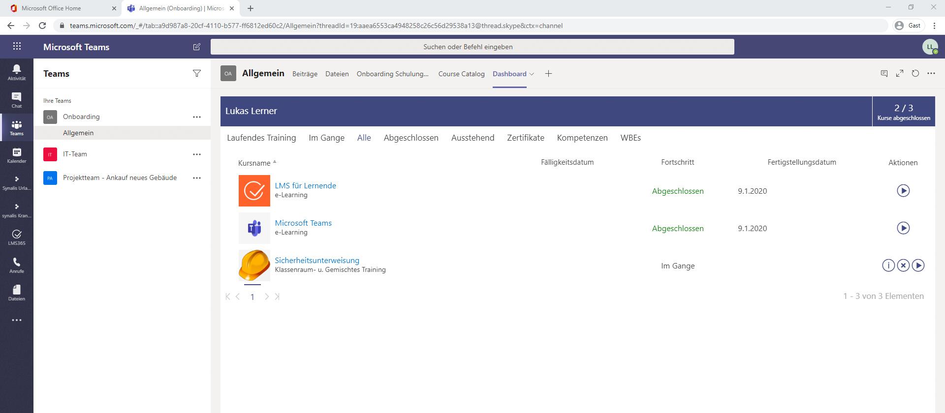 synalis Blogbeitrag MicrosoftTeams