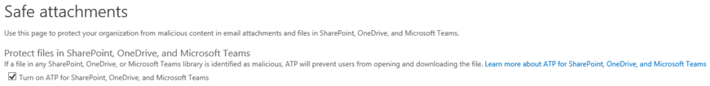 Office 365 Advanced Threat Protection (ATP)