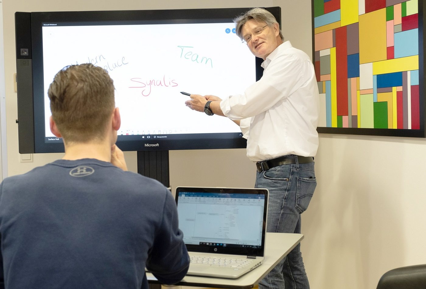 synalis Teamwork am Surface HUB