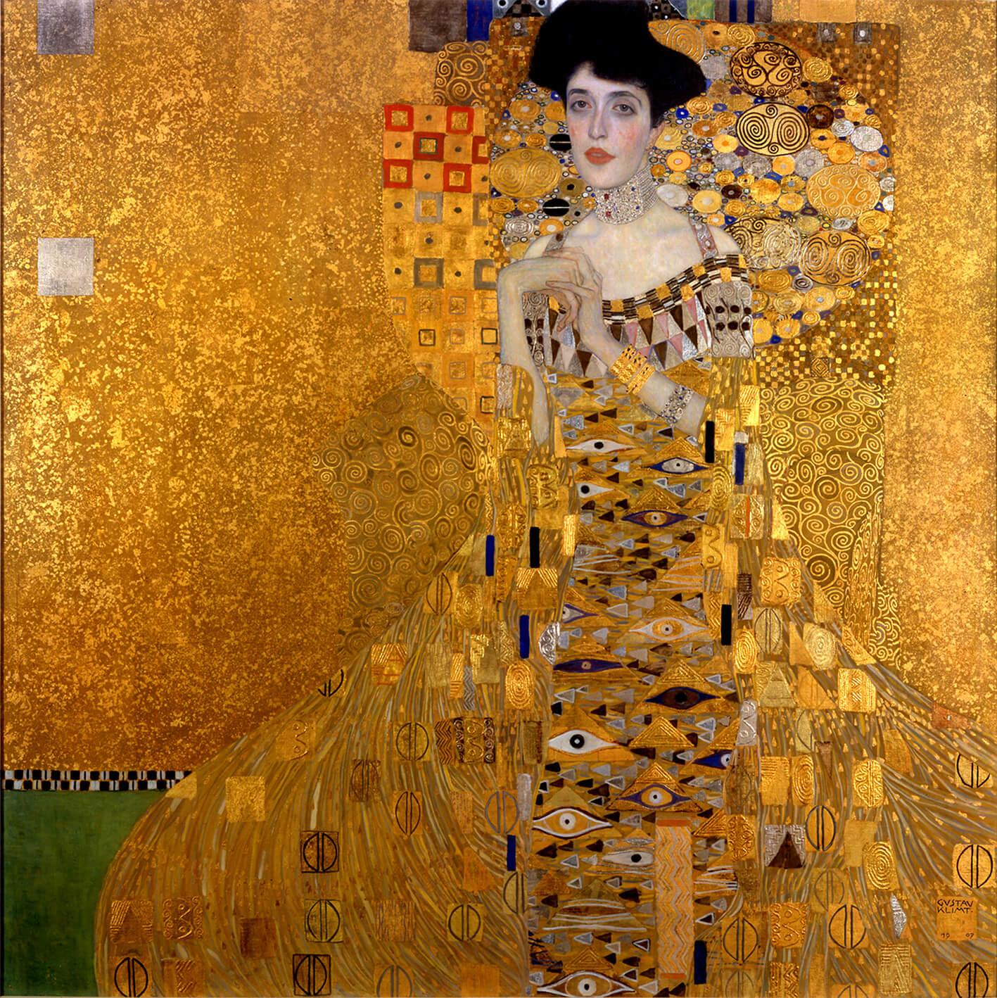 Adele von Gustav Klimt zeigt dass Kundenbeziehungen durch CRM Gold wert sind
