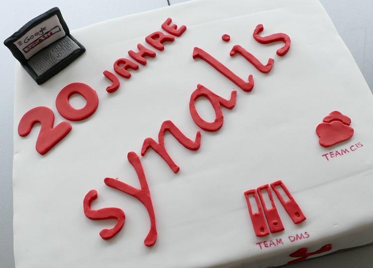 20 Jahre IT-Unternehmen Köln Bonn Jubiläumstorte