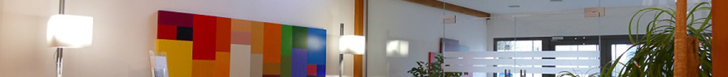 Bildausschnitt Foyer synalis IT Unternehmen Bonn