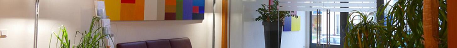 Bildausschnitt Foyer synalis IT Unternehmen Köln Bonn