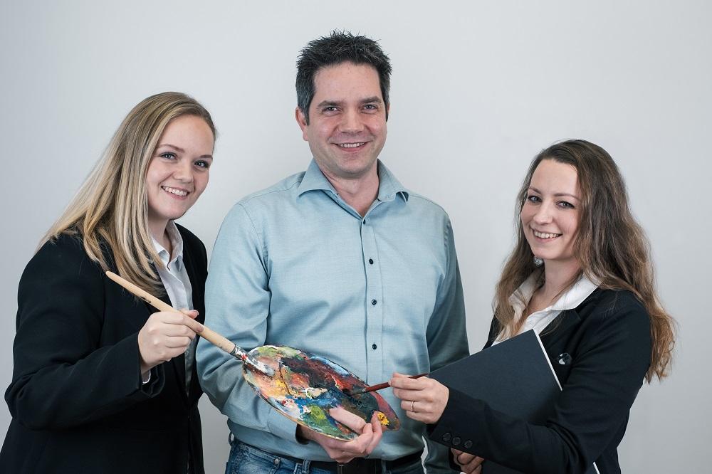 3 Teammitglieder der IT Consulting Köln Bonn