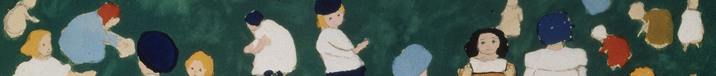 Bildausschnitt Malewitsch Kinder