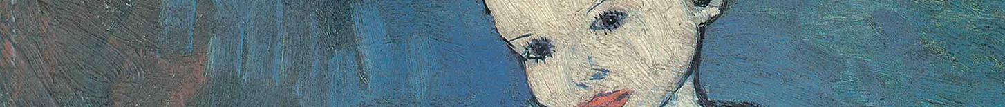 Bildausschnitt Picasso Taube Mädchen
