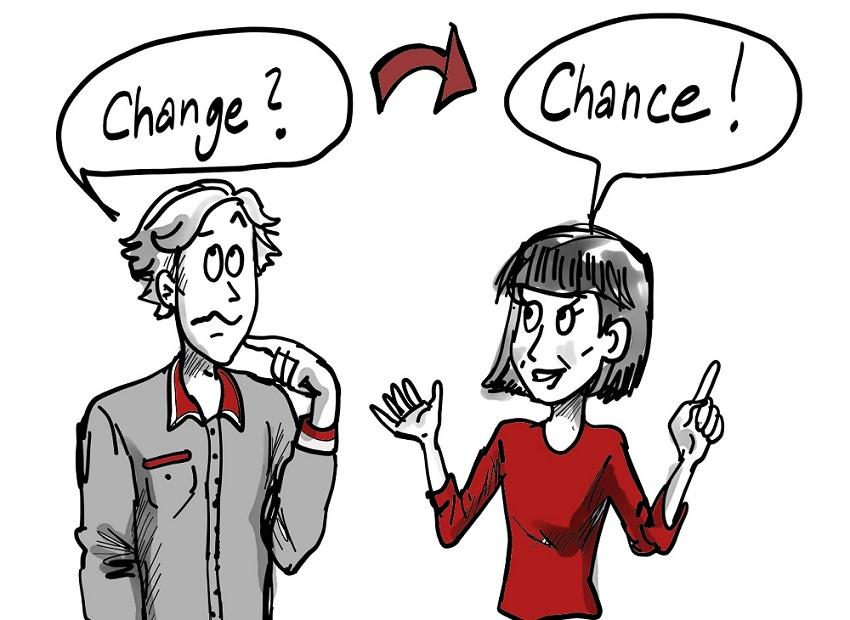 Dialog Change Management als Chance für Veränderung