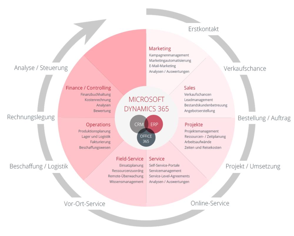 MS Dynamics_365_Infografik Vorteile