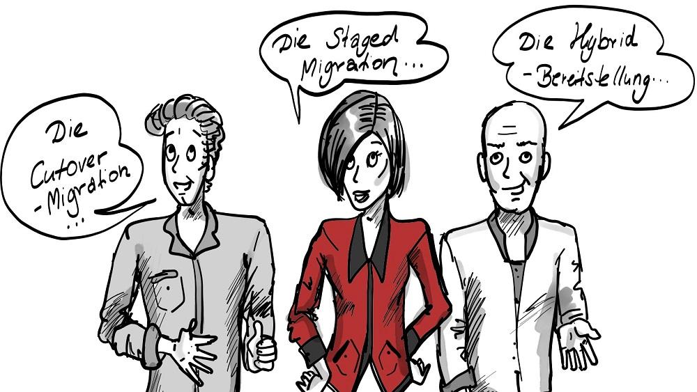 Die 3 Arten der MS Exchange-Migration