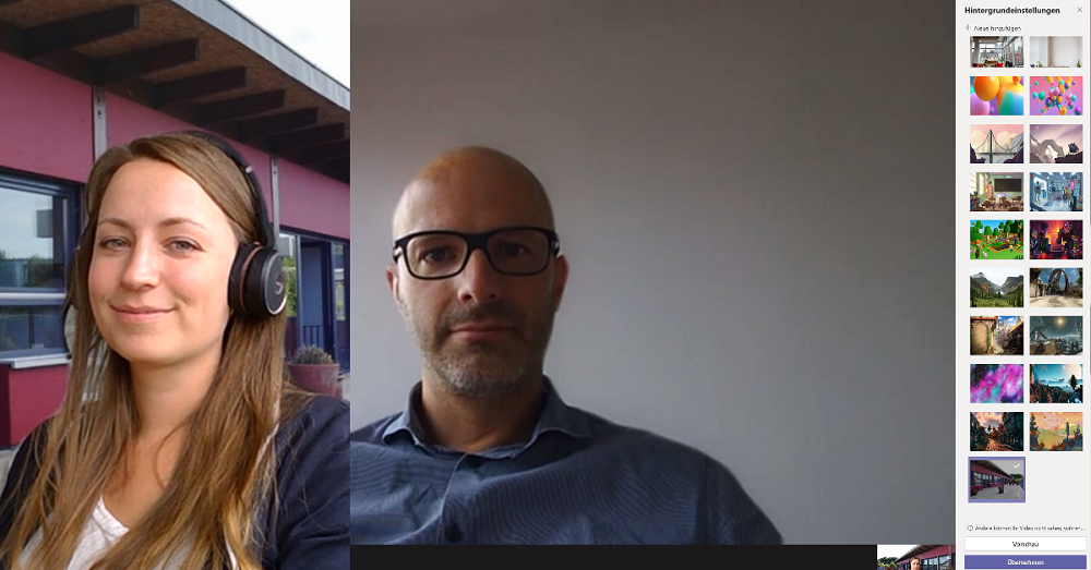 Videocall Facetime mit Microsoft Teams