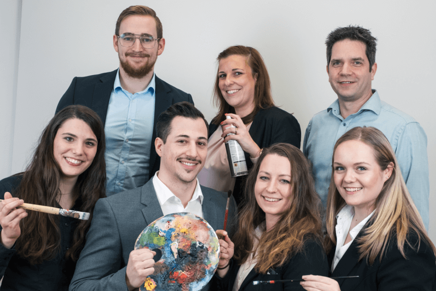 Teamfoto IT-Consultants und Berater vom IT-Systemhaus synalis