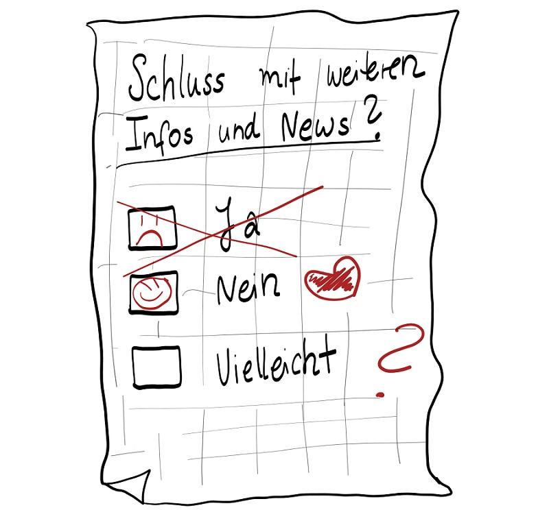 Scribble Abmeldung Newsletter synalis Cloudanbieter Köln Bonn