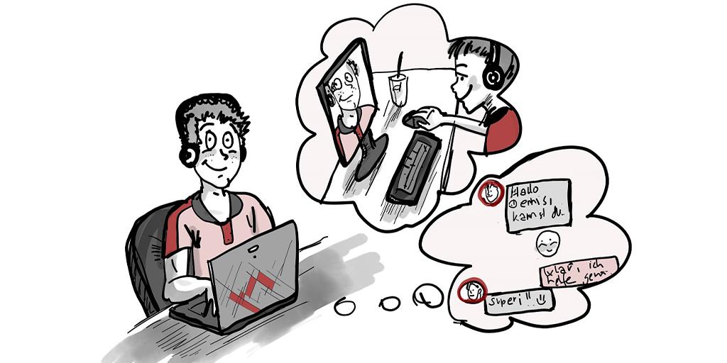 Scribble Online-Kommunikation und Chat