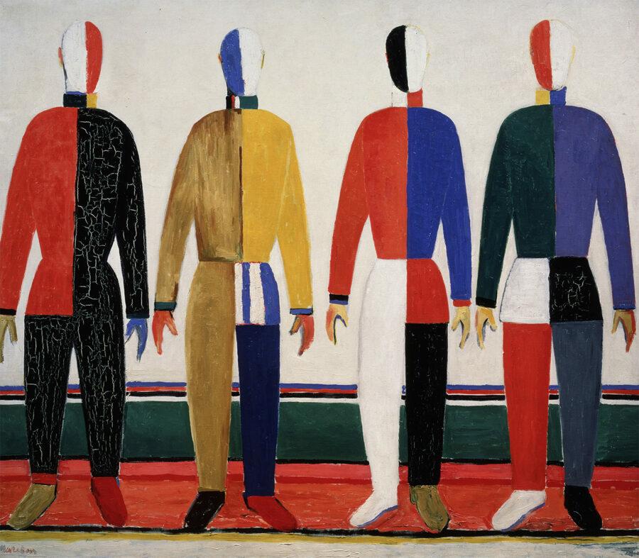 Kasimir-Sewerinowitsch-Malewitsch-die-Sporter