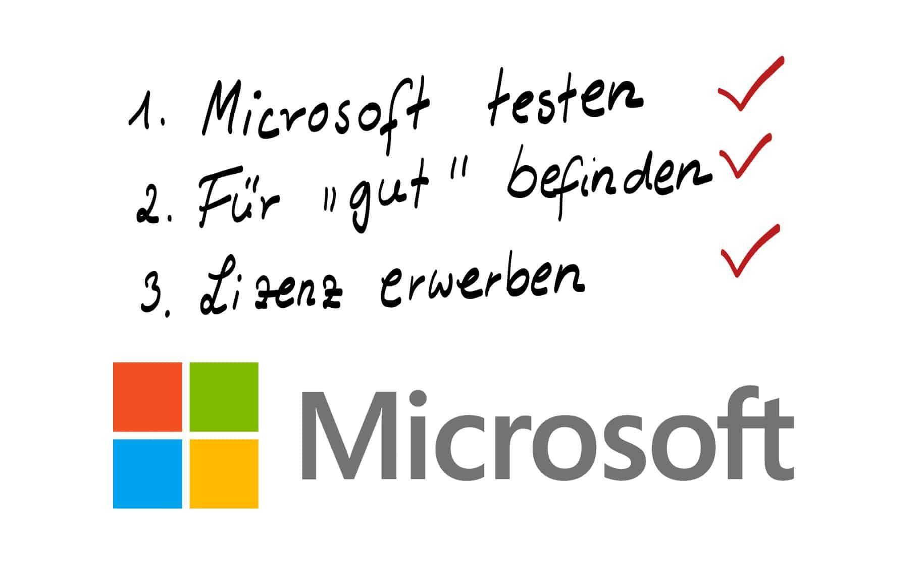 Microsoft Office 365 testen