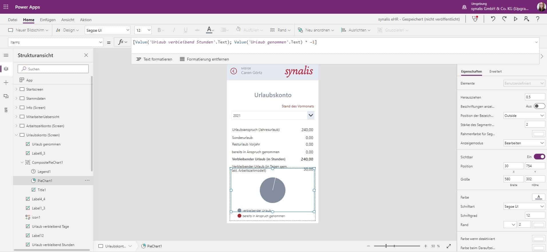 Microsoft Power Apps_HR-App-Urlaubskonto_Backend