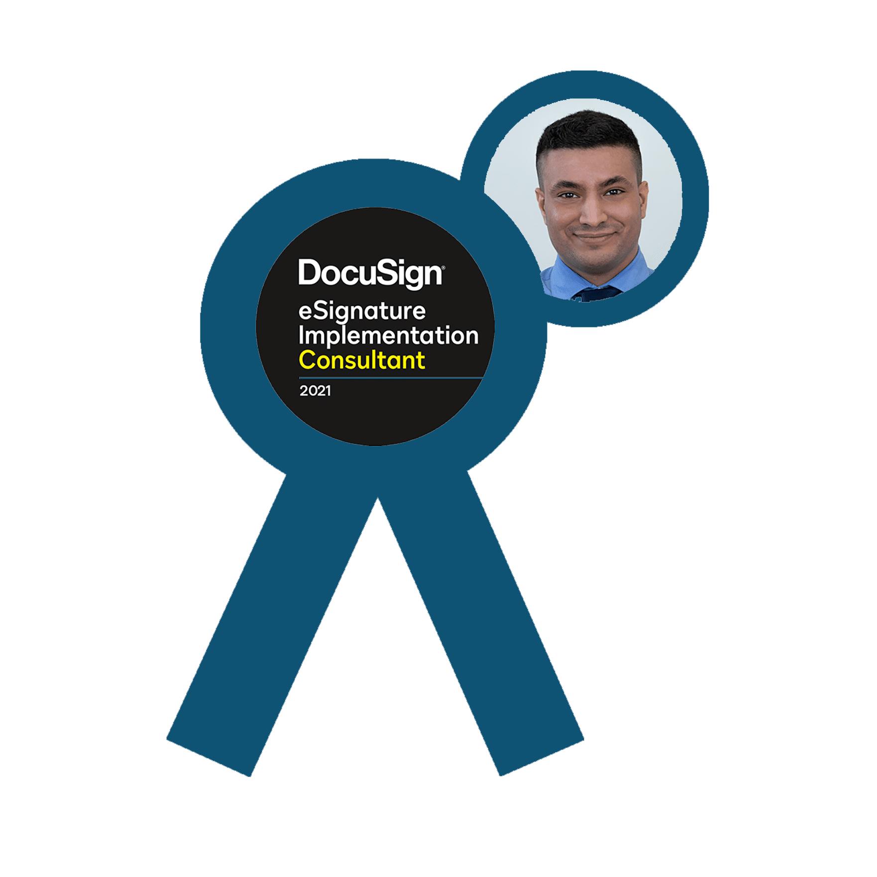 DocuSign eSignature Implementation Consultant 2021