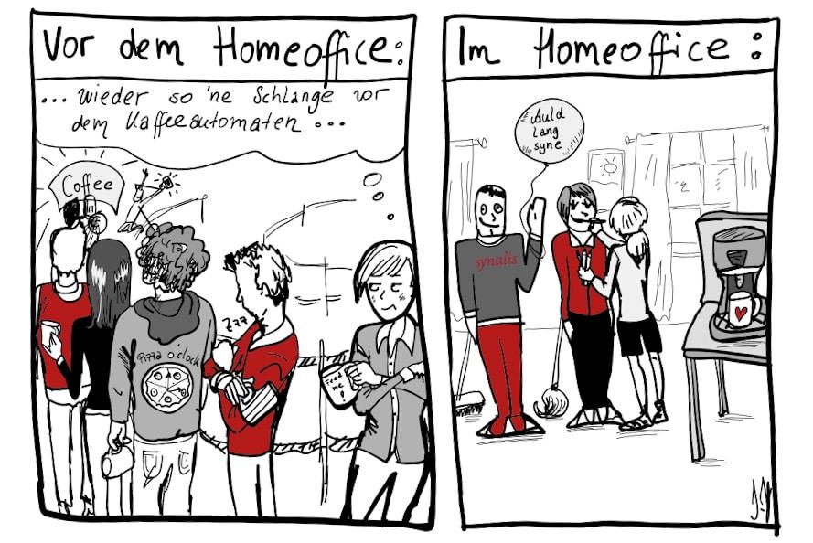 Entfremdung im Homeoffice?